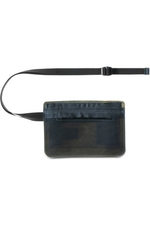 GUERRILLA GROUP Translucent Leather Belt Bag