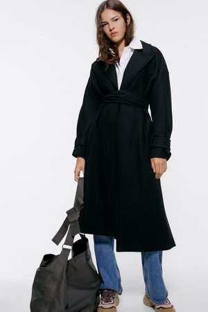Zara Damen Mäntel - Mantel mit gürtel