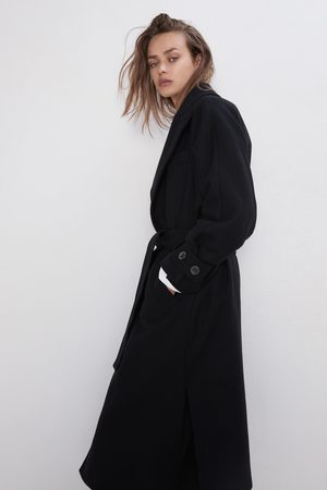 Zara Mantel mit gürtel