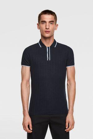 Zara Herren Poloshirts - Muscle-fit-poloshirt