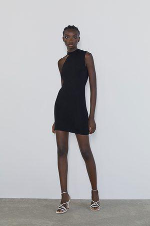 Zara Damen Freizeitkleider - Minikleid mit zierausschnitten