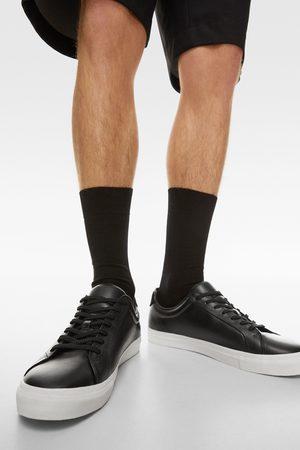 Zara Herren Sneakers - Ledersneaker in