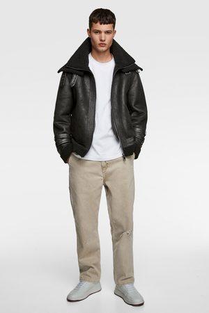 Zara Herren Jacken - Jacke mit doppeltem kragen