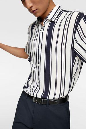 Zara Herren Freizeit - Hemd mit streifen