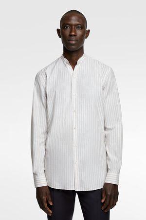 Zara Herren Hemden - Gestreiftes hemd
