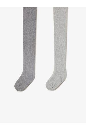 Zara 2er-pack einfarbige strumpfhosen