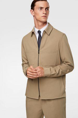 Zara Herren Hemden - überhemd – traveler-kollektion