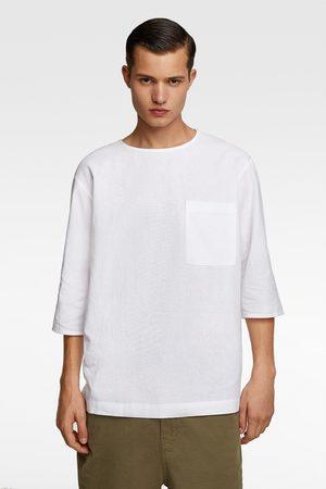 Zara Herren Hemden - Hemd aus festem stoff