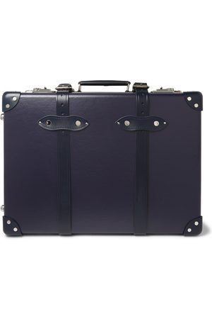 "Globetrotter Herren Koffer - 20"" Leather-trimmed Carry-on Suitcase"