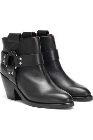 See by Chloé Ankle Boots Eddy aus Leder