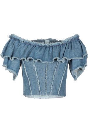 Dolce & Gabbana Damen Blusen - DENIM - Jeanshemden - on YOOX.com