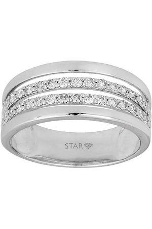 Stardiamant Ring - Brillant 585 - D6425/W