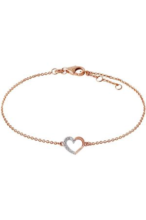 Stardiamant Armband - Herz - Brillant Rosegold 585 - D2645/R