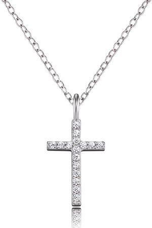 Engelsrufer Halskette - Kreuz mit Zirkonia - ERN-LILCROSS-ZI