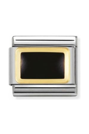 Nomination Armbänder - Classic - GEOMETRIC Edelstahl, Email und 18K-Gold (Rechteck )