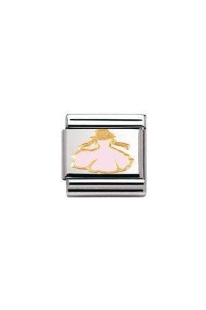 Nomination Armbänder - Classic - FANTASIA Edelstahl, Email und 18-K-Gold (Prinzessin)