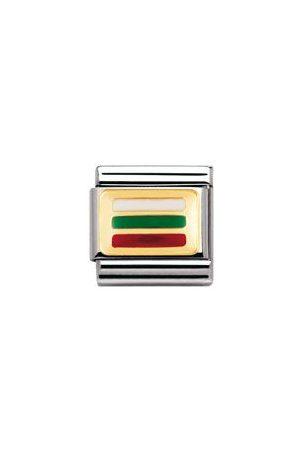 Nomination Armbänder - Classic - FLAGGE EUROPA Edelstahl, Email und 18K-Gold (BULGARIEN)