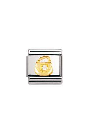 Nomination Classic - FUN Edelstahl, 18K-Gold und Cubic Zirc. (Tasche)