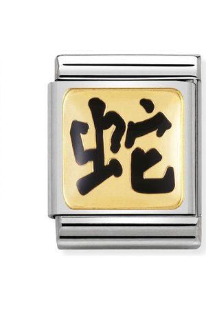 Nomination Armbänder - BIG - STERNZ. CHINA Edelstahl, Email und 18K-Gold (Schlange)