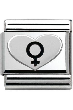 Nomination Armbänder - Classic - Composable Classic oxidiert - Herz Symbol Frau - 330101/08