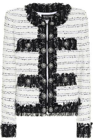 Balmain Jacke aus Tweed