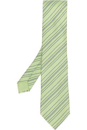 Hermès 2000s pre-owned gemusterte Krawatte