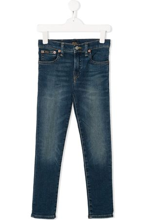 Ralph Lauren Kids Jungen Cropped - Jeans mit Stone-Wash-Effekt