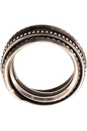 WERKSTATT:MÜNCHEN Ring im Layering-Look - SILVER