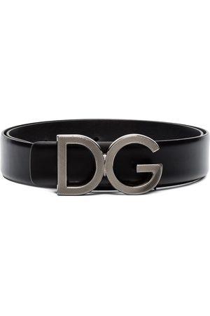 Dolce & Gabbana Gürtel mit Logo-Schild