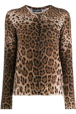 Dolce & Gabbana Cardigan mit Leoparden-Print