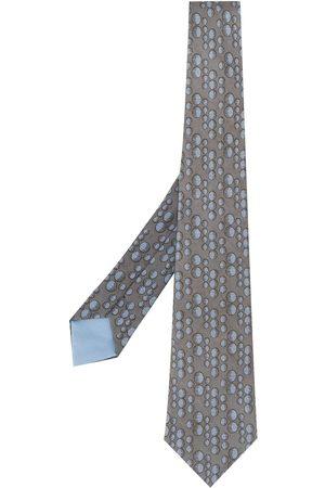 Hermès 2000er Krawatte mit Print
