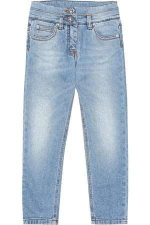 Balmain Exklusiv bei Mytheresa – Jeans aus Stretch-Baumwolle