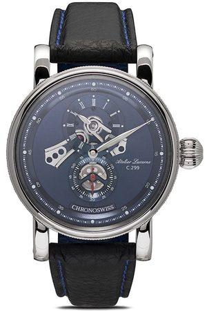 Chronoswiss Flying Regulator Open Gear 41mm Armbanduhr - BLUE