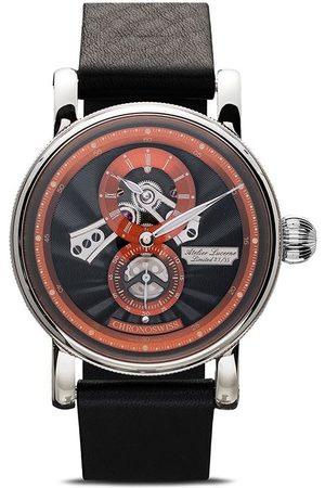 Chronoswiss Flying Regulator Open Gear Anniversary Edition 41mm Armbanduhr - Black