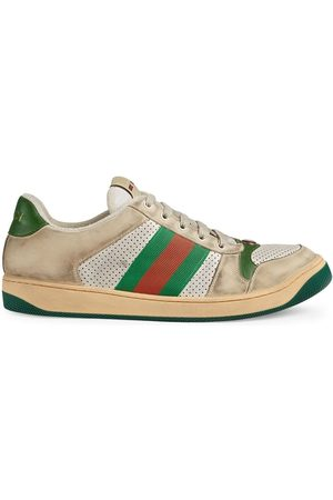 Gucci Screener' Sneakers - Nude