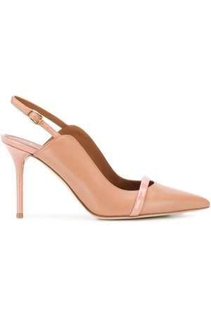 MALONE SOULIERS Marion 85' Pumps - Nude