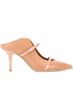 MALONE SOULIERS Mules mit spitzer Kappe - Nude