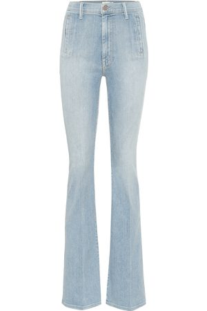 Mother Damen High Waisted - High-Rise Bootcut Jeans Drama