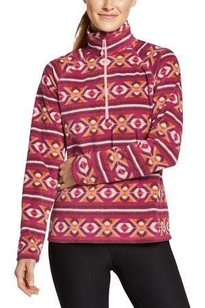 Eddie Bauer Quest Fleecepullover mit 1/4-Reissverschluss - bedruckt Damen Gr. L