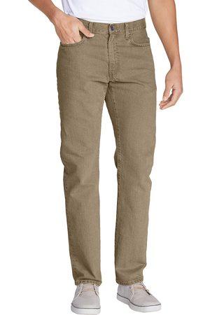 Eddie Bauer Herren Slim - Flex Jeans - Slim Fit Natur Gr. 30 Länge 32