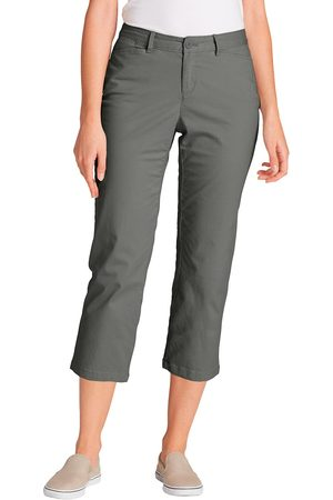 Eddie Bauer Legend Wash 3/4-Chino - Curvy Damen Gr. 6