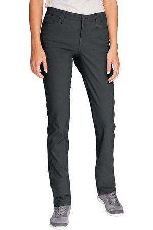 Eddie Bauer Horizon Guide 5-Pocket Hose - Slim Straight Damen Gr. 4