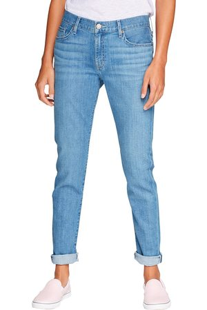 Eddie Bauer Elysian Boyfriend Jeans - Slim Leg Damen Gr. 16