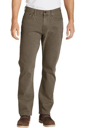 Eddie Bauer Flex Jeans - Straight Fit Herren Gr. 42 Länge 34