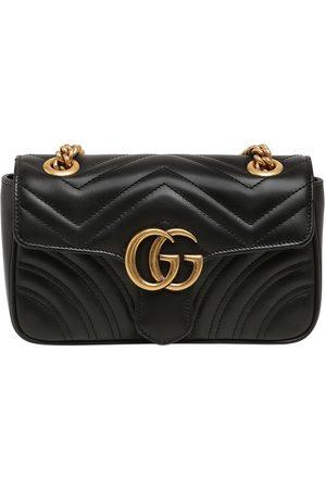 "Gucci Mini Schultertasche Aus Leder ""gg Marmont 2.0"""