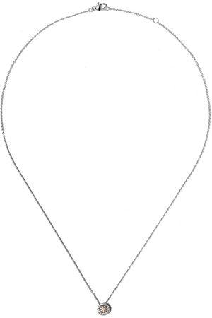 De Beers Damen Halsketten - 18kt ' Aura' Weißgoldhalskette - WHITE