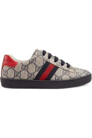 Gucci Sneakers mit Monogramm - Nude