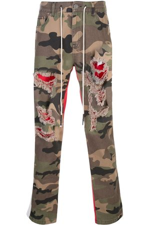 MOSTLY HEARD RARELY SEEN Hose mit Camouflage-Print