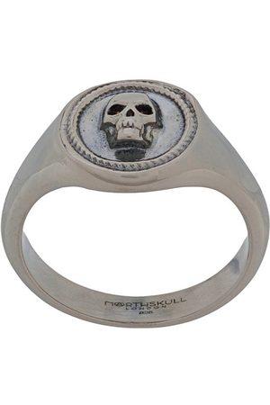 NORTHSKULL Herren Ringe - Kleiner 'Atticus' Ring mit Totenkopf