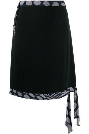 Maison Martin Margiela 1990's dot detail A-line skirt